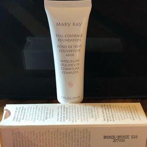 Mary Kay Full Coverage Foundation Bronze 500